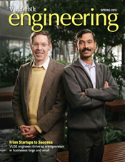 Vanderbilt University School of Engineering magazine Spring 2010