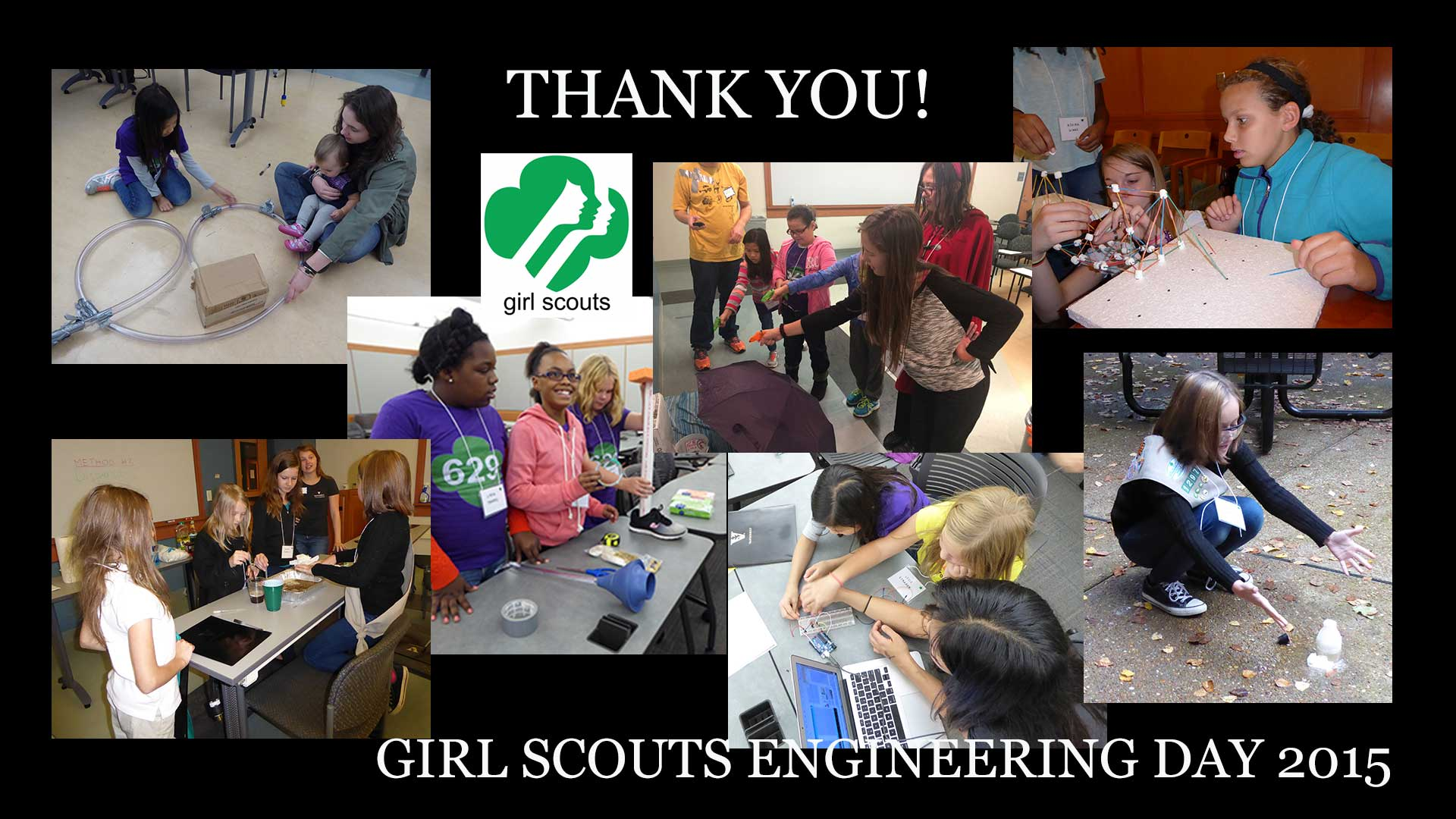 Girl Scouts Engineering Day