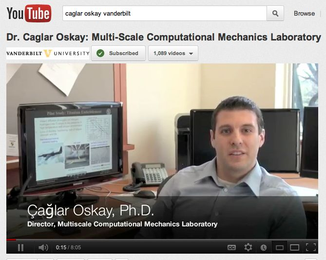 Link to Civil and Environmental Engineering Video Playlist