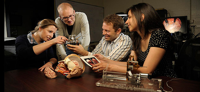 Engineers and physicians work side by side to create new lifesaving medical technologies.