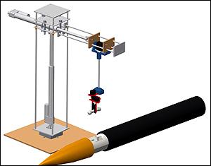 CAD of rocket