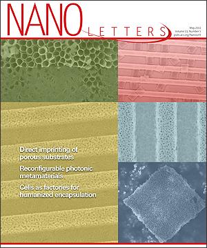 Nano Letters cover