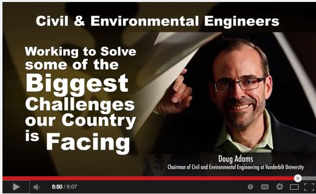 Doug Adams, Chairman of Civil & Environmental Engineering