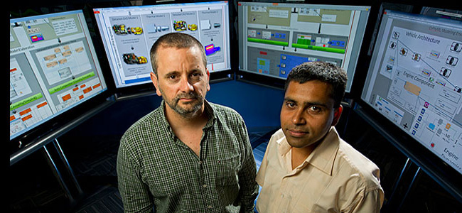 Ted Bapty and Sandeep Neema spearhead the initial stage of DARPA's Adaptive Vehicle Make research program.