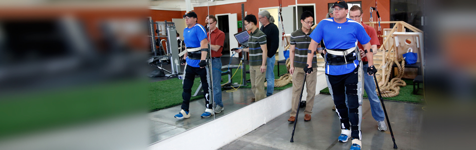 Exoskeleton promises new degree of independence for people with paraplegia