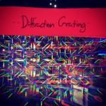 A nearby constellation display worked well to demonstration diffraction. (Heidi Hall/Vanderbilt University)