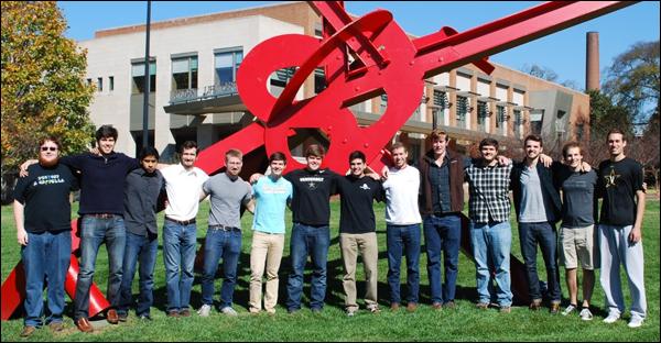 2014-15 Vanderbilt Aerospace Club team
