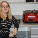 Caroline Harriott is evaluating whether first responders could perform tasks better with robot teammates.