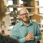 David Merryman's efforts have not only earned him national recognition for his research, but also the title of associate professor of biomedical engineering with tenure and another R01 grant from the National Institutes of Health. (Daniel Dubois/Vanderbilt University)