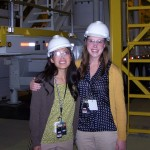 Ph.D. students Bethany (Smith) Burkhardt, left, and Lyndsey Fyffe are aiding with decommissioning in the Hanford nuclear site in the state of Washington. (Photo: U.S. Department of Energy)
