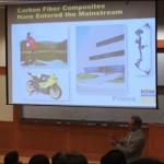 R. Byron Pipes delivered the John R. and Donna S. Hall Engineering Lecture March 30 in the School of Engineering.