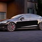 The Tesla Model S. (Photo courtesy of Tesla)