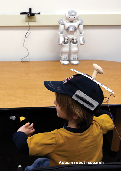 autism robot research